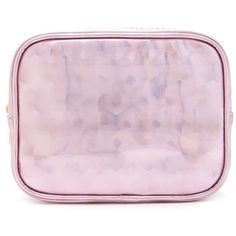 Forever21 Geo Patterned Makeup Bag ($6.90) ❤ liked on Polyvore featuring beauty products, beauty accessories, bags & cases, pink, makeup purse, travel bag, makeup bag case, toiletry bag and forever 21 makeup bag