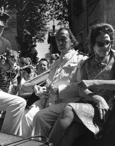 salvador dalíet sa femme gala en août 1965