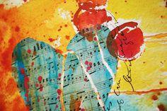 "Like the ""musical"" heart."