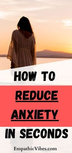 Self Care Tips - How to reduce anxiety in seconds. An Easy Way To Reduce Anxiety In Seconds – Anxiety and depression have become very common. Many people struggle with it (especially empaths… More Deal With Anxiety, Stress And Anxiety, Anxiety Tips, Highly Sensitive Person, Sensitive People, Psychic Development, Self Development, Personal Development, Anxiety Relief