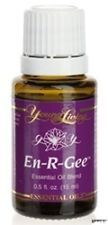 YLEO EN-R-GEE Young Living Essential Oil 15 ML New Organic Energy Boost Pure