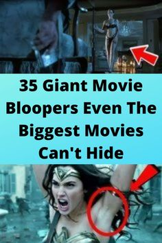 35 #Giant Movie #Bloopers Even The Biggest #Movies Can't Hide