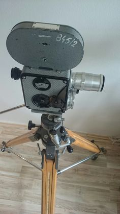 Old professional camera AK16