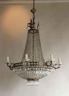 Italian Antique Chandelier Circa 1930 Http Www Antiquelightingandchandeliers Co Uk