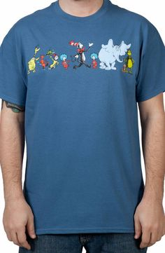 Characters Dr Seuss Shirt: Kids Toys Books Dr Seuss T-shirt Dr Seuss Week, Dr Suess, Book Shirts, Movie T Shirts, Dr Seuss T Shirts, Library Themes, Library Decorations, Read Across America Day, Kids Toys