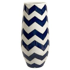 I pinned this Chevron Vase from the Shabby Nest event at Joss and Main!