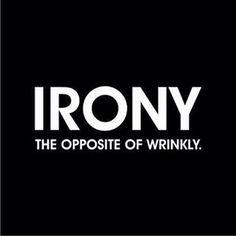 Irony defined