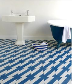 Lovely new tile designs for 2012 by Popham Designs shared by Design Sponge. Click image to see more!    If you are in Ontario we have a Kitchen and Bath Showroom in Burlington.....come in and see us!