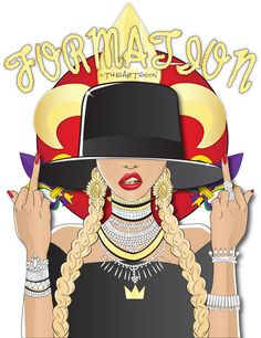 BEYONCE FORMATION By:THEARTGOON th3artgoon.tictail.com : : submission : :