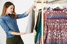 Here are 5 easy ways to decide what to keep in your closet. Don't worry—we won't make you throw away anything sentimental. Promise!