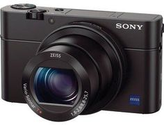 #Sony #Cybershot RX100 III – 20.1 Megapixels, Point & Shoot Camera, Black KEY FEATURES 20.1 Megapixel CMOS sensor 2.95 inch 2.9x optical zoom 8 to 25.7mm The 4 x 2.29 x 1.61inch camera is designed to fit comfortably in your hands