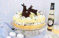 Rezept für Eierlikör Stracciatella Torte