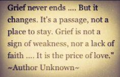 Losing a loved one is always heart breaking.