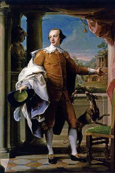 Pompeo Batoni, Portrait of Sir Wyndham Knatchbull, c. 1758. Los Angeles County Museum of Art   by renzodionigi