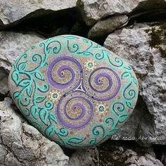 #nature#mothernature#piedras#piedraspintadas #artenaturaleza#amor