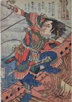 Kuniyoshi, The 108 Heroes of the Popular Suikoden - Ryuchitaisai