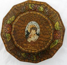 George W Horner shaped Dainty Dinah Toffee Tin with by Tinternet