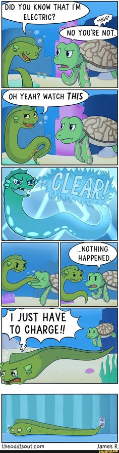 comic, funny, lol, eel