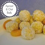 Easy Apricot & Oat balls. Recipe on the blog today beafunmum.com