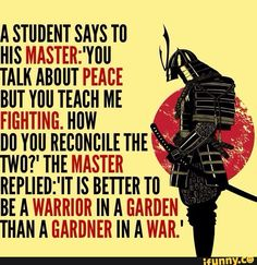 To preserve peace, prepare for war… – Liberal Logic 101 - sprüche - Quotes Wise Quotes, Great Quotes, Quotes To Live By, Motivational Quotes, Inspirational Quotes, Samurai Quotes, Martial Arts Quotes, Ju Jitsu, Liberal Logic