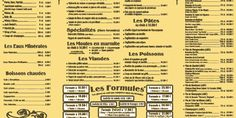 La Carte - Restaurant La Trinquette - Port-Cros