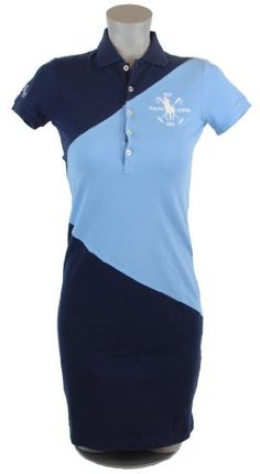 Ralph Lauren Sport Womens Big Pony Polo Shirt Dress \u2013 M \u2013 Navy Blue