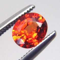 Padparadscha. Sapphire. 0 84ct Rare Orange Sapphire Natural Untreated VS1 by DeVanxGems