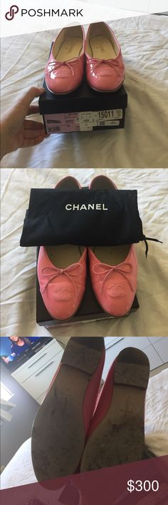 Chanel Flats Guc chanel authentic flats very comfortable light pink size 39 CHANEL Shoes Flats & Loafers