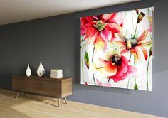 Enrollables fotográficos acuarela floral