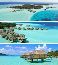 Dream Destination Wedding Venue:  Le Taha'a Island Resort & Spa, a 5-star property located on the Tahitian island of Taha.
