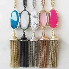 Kendra Scott Everly Necklace. I'll take one in every color, please.
