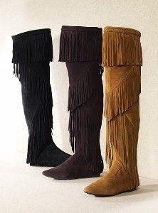 689613c18 Sam edelman uri over the knee fringe boots 6   37 new