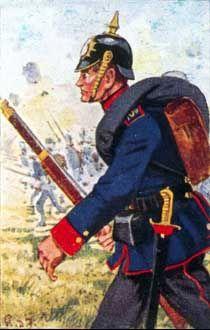 Sächsische Infanterie und Jäger 1870/71