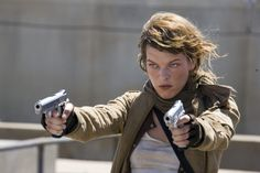 Still of Milla Jovovich in Resident Evil: Extinction (2007)