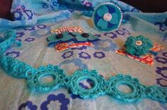 bleu crochet..feutrine
