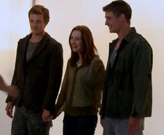 The host, Saoirse Ronan, Max Irons and Jake Abel