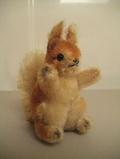 In my ETSY Shop: Steiff Vintage Possy Squirrel  Adorable little critter!!