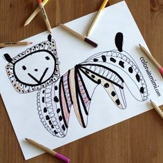 free coloring pages by artist Melina Smyres  at colorwithmimi.com
