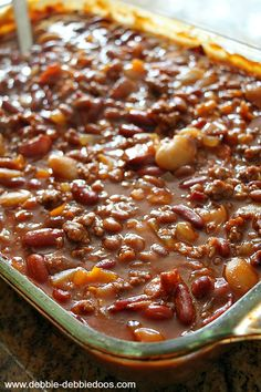 Best baked beans recipe. This is the same as Aunt Renee's Baked Beans.