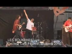 LES BOUKAKES - Live Brussels 2012. Punky Hallal (Official).