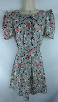 A|Wear NEW Multi-Color Tulip Short Sleeve Above The Knee Dress Ladies 10 | Clothing, Shoes & Accessories, Women's Clothing, Dresses | eBay!