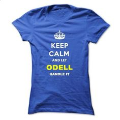 Keep Calm And Let Odell Handle It - #shirt pattern #hoodie costume. MORE INFO => https://www.sunfrog.com/Names/Keep-Calm-And-Let-Odell-Handle-It-heffb-Ladies.html?68278