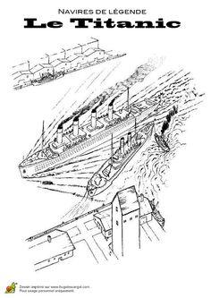 Titanic interior map see titanic deck plans my titanic pinterest rms titanic titanic and - Dessin du titanic ...