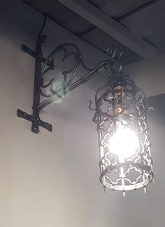Forged lantern P D'Eramo