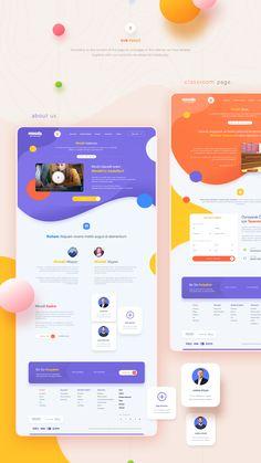 Minidil Website Minidil Website on Behance<br> Web Design Websites, Web Ui Design, Web Design Trends, Design Tech, Modern Web Design, Responsive Web Design, Best Web Design, Graphic Design, Blog Design