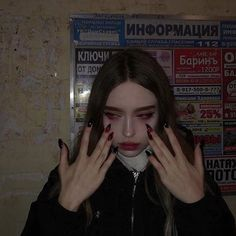 I want to be strong but I cant Bad Girl Aesthetic, Aesthetic Makeup, Aesthetic Grunge, Aesthetic Photo, Aesthetic Pictures, Music Aesthetic, Crying Aesthetic, Demon Aesthetic, Aesthetic Movies