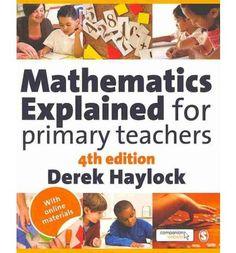 Mathematics Explained for Primary Teachers (Paperback)
