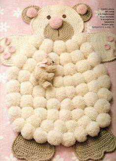.Cute Rug for Baby's room !! Cutest EVER! And easy to make!