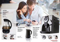 Automatic Coffee Machine, Drip Coffee Maker, Tea, Baking, Kitchen, Cooking, Coffeemaker, Bakken, Bread