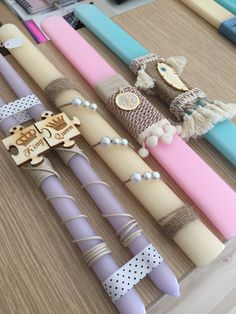 Candels, Easter Crafts, Tea Party, Diy Crafts, Pillows, Handmade, Decor, Do It Yourself, Cushion